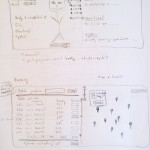 Soutěžní aplikace_Postava uživatele se statistikami, přehled soubojů