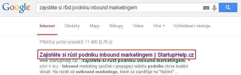 SEO_Vyhledávání - titulek