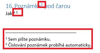 Word - Poznámky pod čarou_1