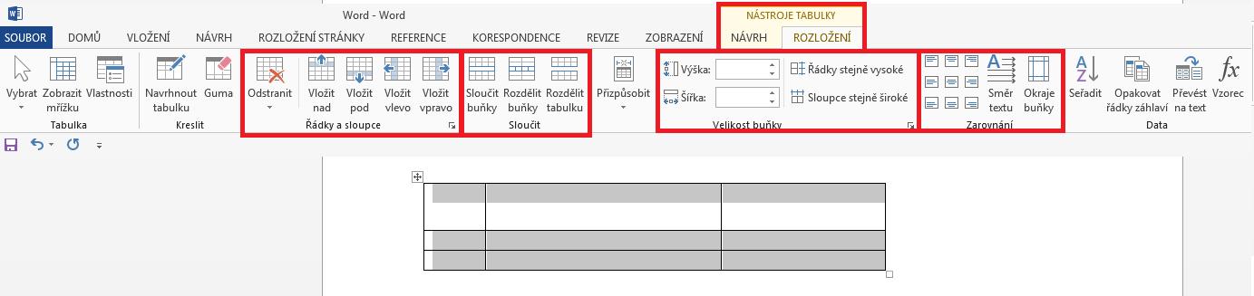 Word - Tvorba a úpravy tabulek_2