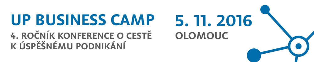 UP Business Camp Olomouc 2016