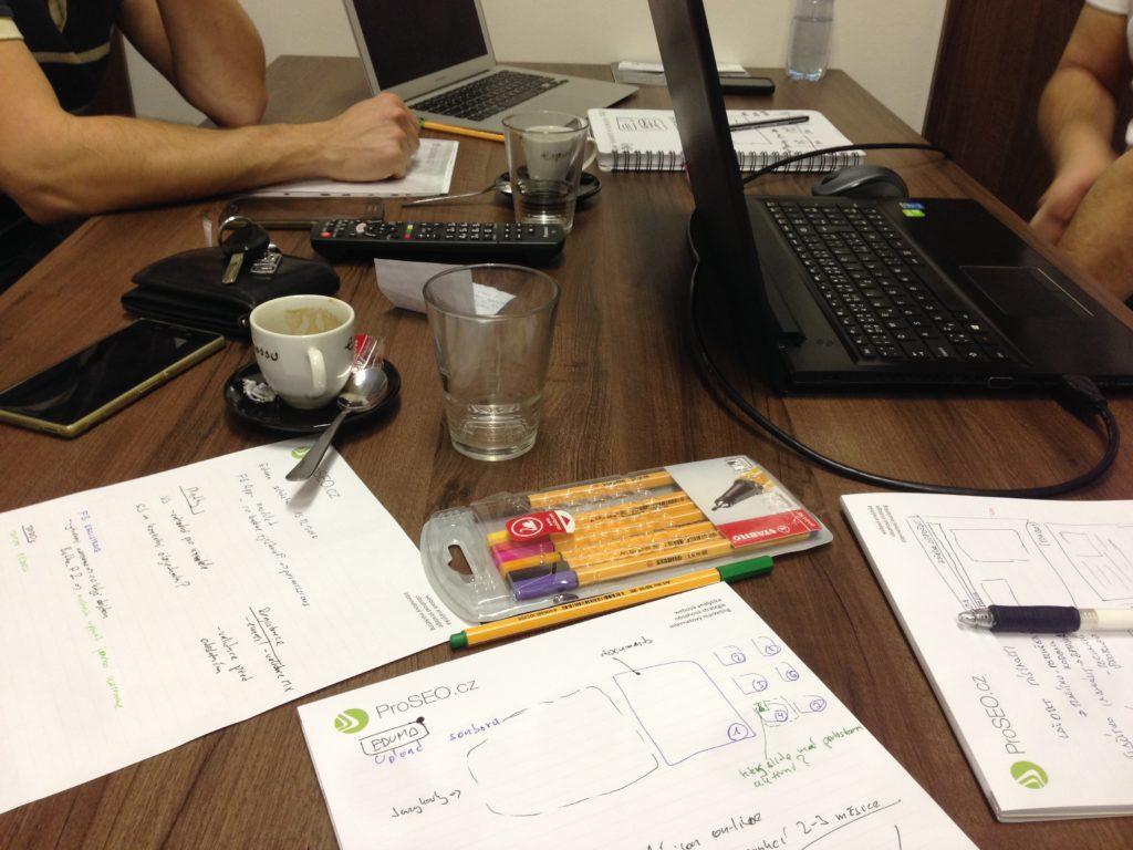 Eduma startup brainstorming